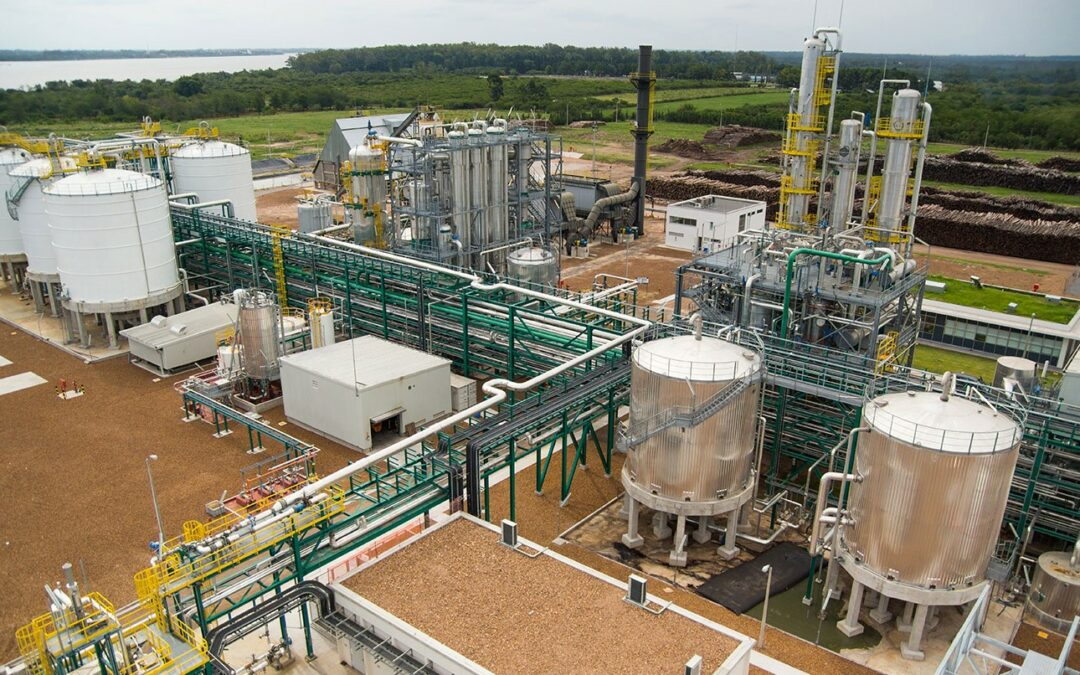 Bioetanol-planta