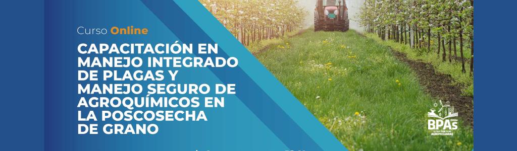 Manejo integrado de plagas y manejo seguro de agroquímicos