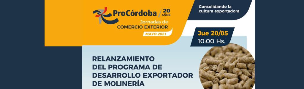 Programa de desarrollo exportador de molinería